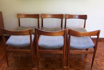 Parker Nordic dining chairs