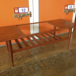 Mid Century Teak and Glass Coffee Table