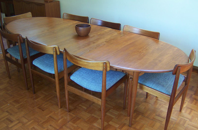 Parker Double Extension Dining Table Form Before Function