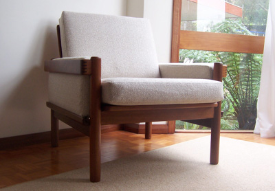 Danish Deluxe Lounge Chair